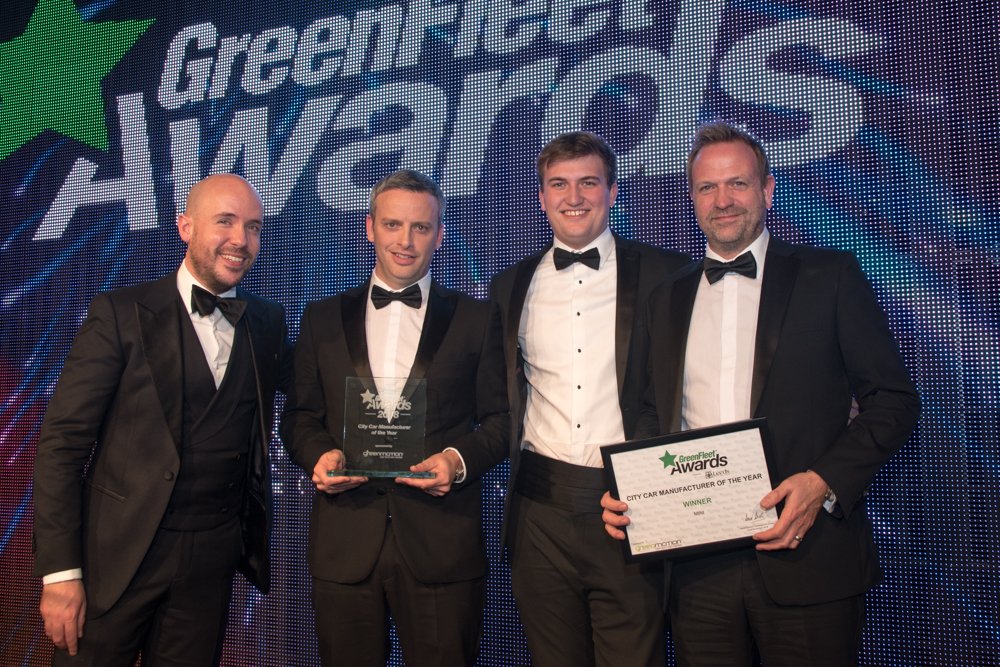 GreenFleet Awards - City Car Manufacturer of the Year 2018 - Mini