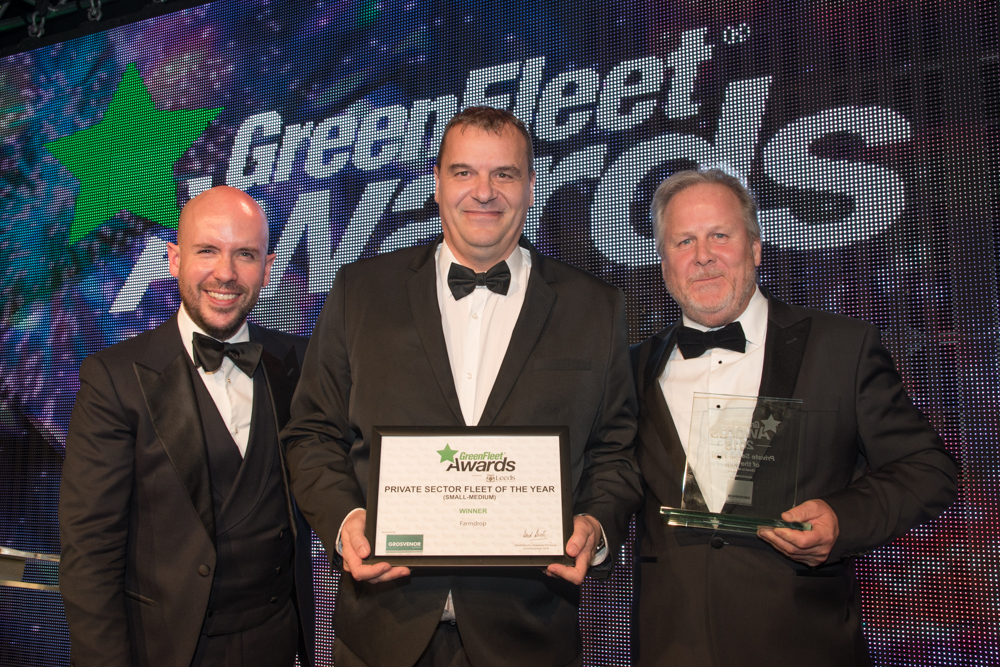 GreenFleet Awards 2018 Private Sector Fleet of the Year (small to medium): Farmdrop