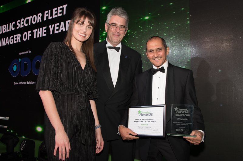 Public Sector Fleet Manager of the Year: Norman Harding - London Borough of Hackney