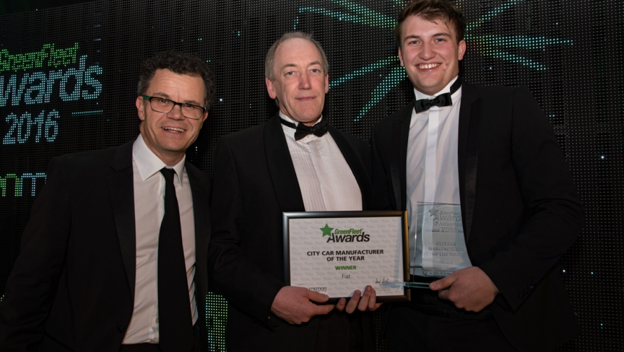 GreenFleet City Car Manufacturer of the Year 2016: Fiat