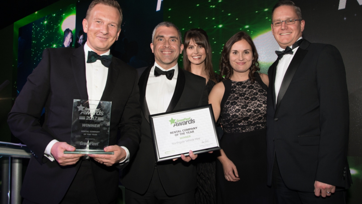 GreenFleet Rental Company of the Year 2017: Northgate Vehcile Hire
