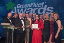 GreenFleet Awards 2018 Private Sector Fleet of the Year (medium to large): Hermes