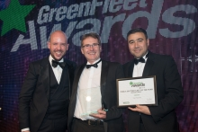 GreenFleet Awards 2018 Public Sector Fleet of the Year (medium to large): City of Swansea